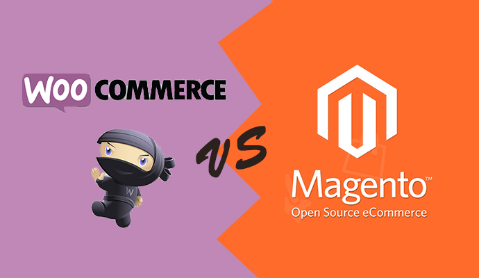Compare Woocommerce vs Magento