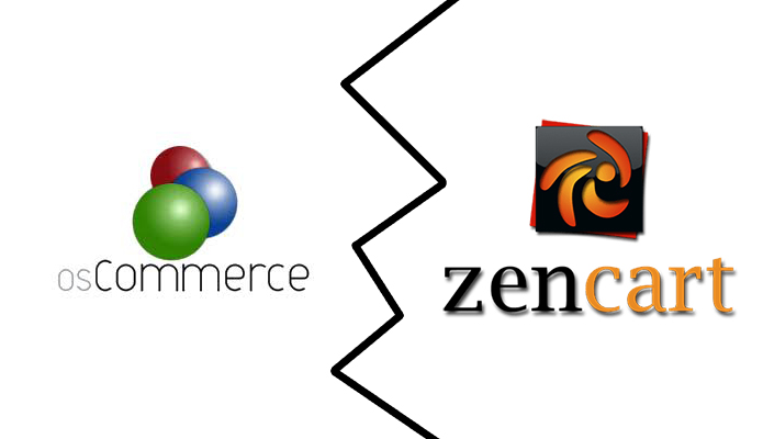 osCommerce vs ZenCart comparison
