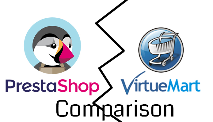comparison prestashop vs virtuemart
